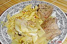 Fenchel - Birnen - Gemüse mit Schweinefilet