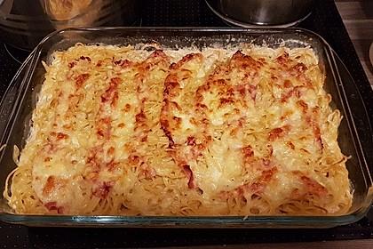 Spaghetti-Auflauf mit Speck 20