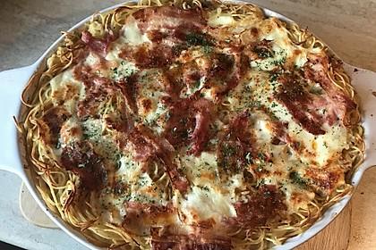 Spaghetti-Auflauf mit Speck 5