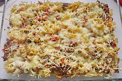 Spaghetti-Auflauf mit Speck 23