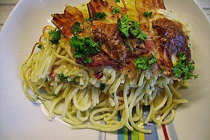 Spaghetti-Auflauf mit Speck 12