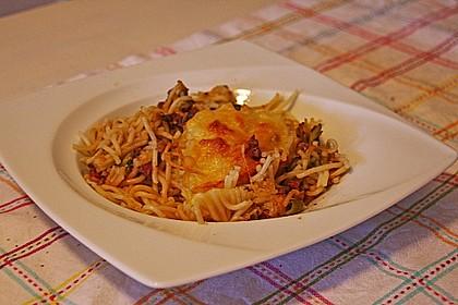 Spaghetti-Auflauf mit Speck 39