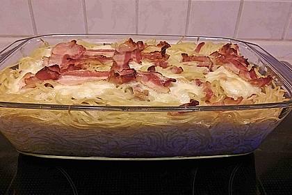 Spaghetti-Auflauf mit Speck 56