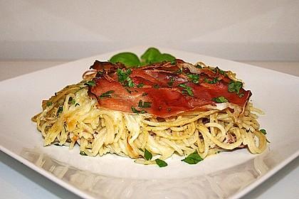 Spaghetti-Auflauf mit Speck 3