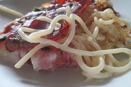 Spaghetti-Auflauf mit Speck 35