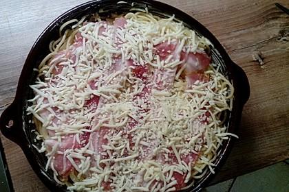 Spaghetti-Auflauf mit Speck 75