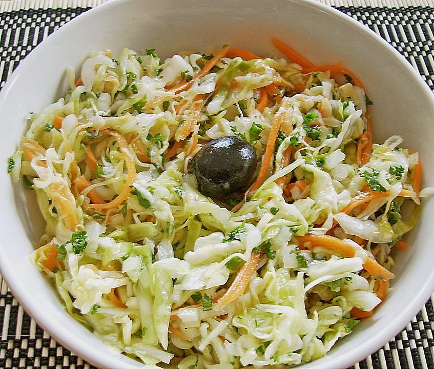 griechischer krautsalat von liebeziege