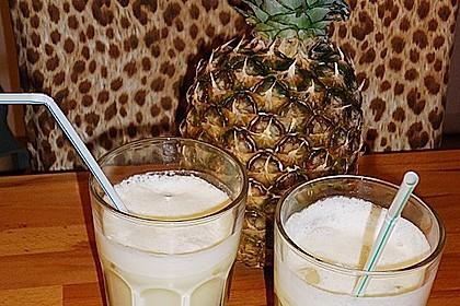 Alkoholfreie Piña Colada 2
