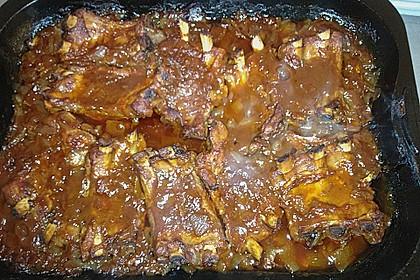 Spareribs mit amerikanischer BBQ-Sauce 40