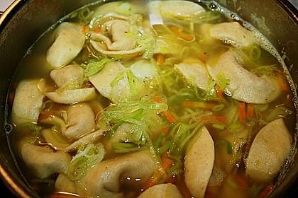 Hühnersuppe mit frischer Pasta 2