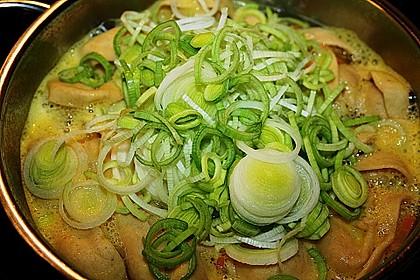 Hühnersuppe mit frischer Pasta 4