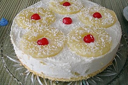 Ananas - Käse - Sahne - Torte