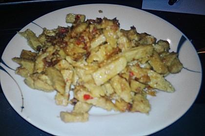 Tofu - Geschnetzeltes 2