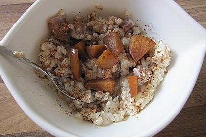 Bratapfel - Milchreis 0