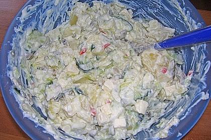Tzatziki - Kartoffelsalat 4