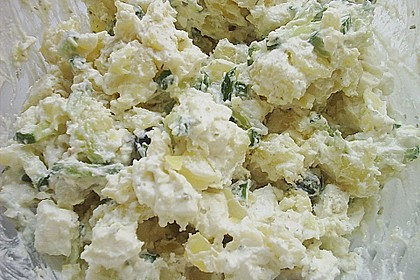 Tzatziki - Kartoffelsalat 3