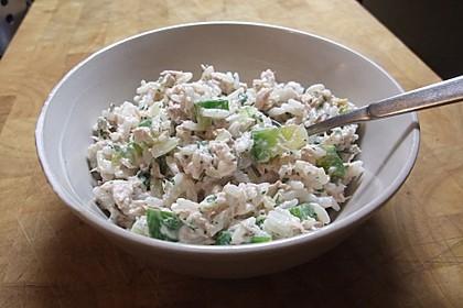 Thunfisch - Reis - Salat mit Paprika