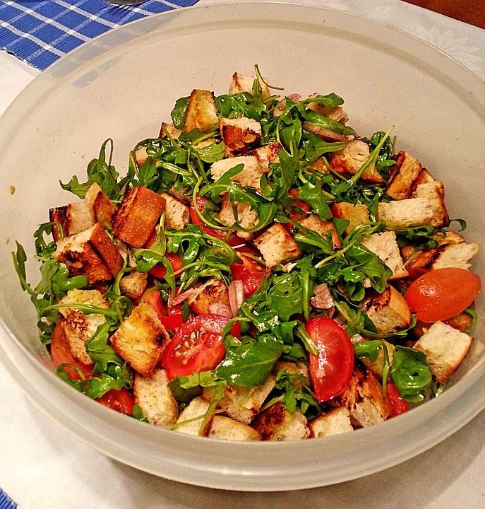 Brotsalat rezept mit bild von zwuggeline for Kochen italienisch