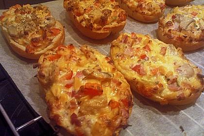 Annikas Pizza - Brötchen