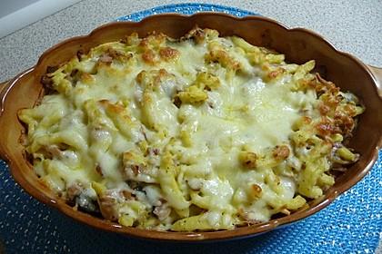 Käse - Spätzle - Auflauf 8