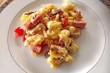 Käse - Spätzle - Auflauf 12