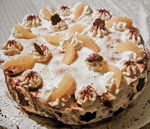 orangen mascarpone torte ohne backen rezept mit bild. Black Bedroom Furniture Sets. Home Design Ideas