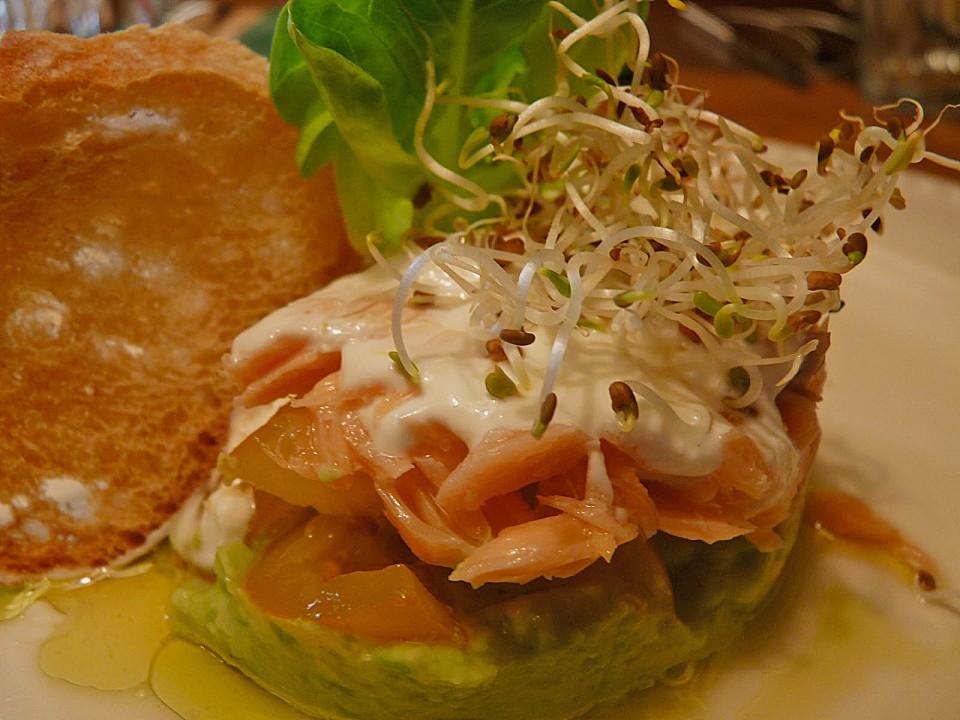 orangen avocado salat mit forellenfilet von lucye. Black Bedroom Furniture Sets. Home Design Ideas