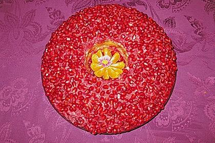 Russischer Salat mit Granatapfel 0