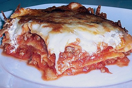 Idiotensichere Lasagne 19