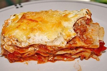 Idiotensichere Lasagne 7