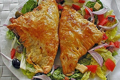 Empanada de chorizo con queso 1