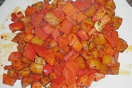 Kartoffelgulasch pikant 10