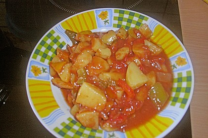Kartoffelgulasch pikant 8