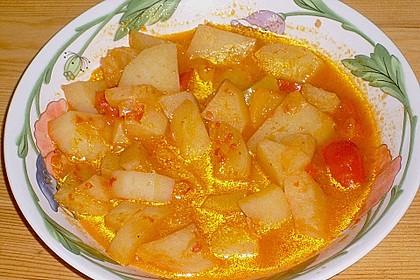Kartoffelgulasch pikant 9