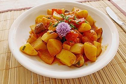 Kartoffelgulasch pikant 1