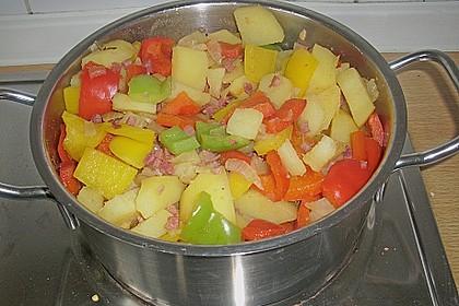 Kartoffelgulasch pikant 7