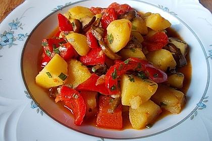 Kartoffelgulasch pikant