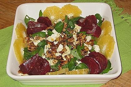Rote Bete-Salat mit Ziegenkäse 8