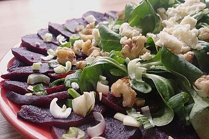 Rote Bete-Salat mit Ziegenkäse 2