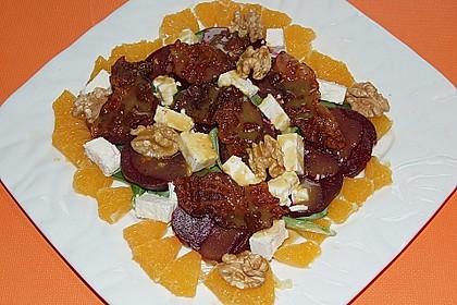 Rote Bete-Salat mit Ziegenkäse 24