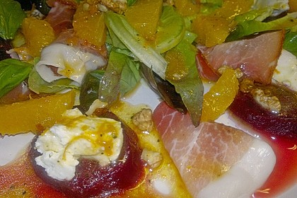 Rote Bete-Salat mit Ziegenkäse 32