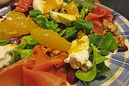 Rote Bete-Salat mit Ziegenkäse 3