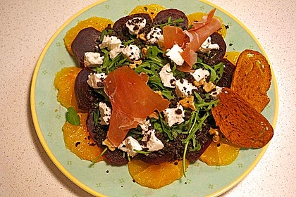 Rote Bete-Salat mit Ziegenkäse 7