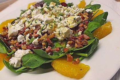 Rote Bete-Salat mit Ziegenkäse 1