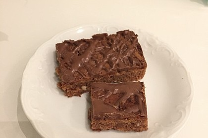 American Double Choc Brownies 195