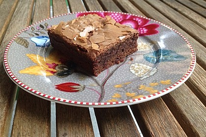 American Double Choc Brownies 9
