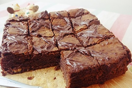American Double Choc Brownies 37
