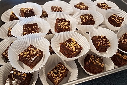 American Double Choc Brownies 11