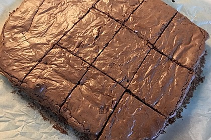 American Double Choc Brownies 76