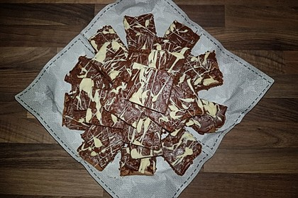 American Double Choc Brownies 57